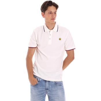 Îmbracaminte Bărbați Tricou Polo mânecă scurtă Ciesse Piumini 215CPMT21423 C2510X Alb