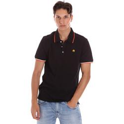 Îmbracaminte Bărbați Tricou Polo mânecă scurtă Ciesse Piumini 215CPMT21423 C2510X Negru