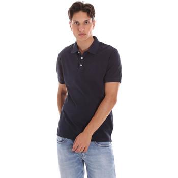 Îmbracaminte Bărbați Tricou Polo mânecă scurtă Ciesse Piumini 215CPMT21454 C0530X Albastru