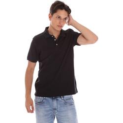 Îmbracaminte Bărbați Tricou Polo mânecă scurtă Ciesse Piumini 215CPMT21454 C0530X Negru