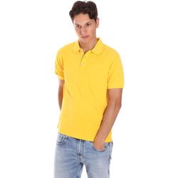 Îmbracaminte Bărbați Tricou Polo mânecă scurtă Ciesse Piumini 215CPMT21454 C0530X Galben