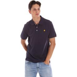 Îmbracaminte Bărbați Tricou Polo mânecă scurtă Ciesse Piumini 215CPMT21424 C0530X Albastru