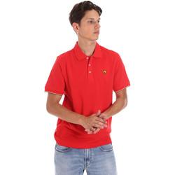 Îmbracaminte Bărbați Tricou Polo mânecă scurtă Ciesse Piumini 215CPMT21424 C0530X Roșu