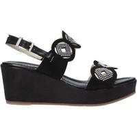 Pantofi Femei Sandale  Valleverde 32214 Negru