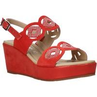 Pantofi Femei Sandale  Valleverde 32214 Roșu
