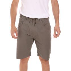 Îmbracaminte Bărbați Pantaloni scurti și Bermuda Key Up 2P025 0001 Verde