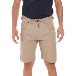 Îmbracaminte Bărbați Pantaloni scurti și Bermuda Key Up 2P025 0001 Bej