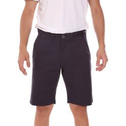 Îmbracaminte Bărbați Pantaloni scurti și Bermuda Key Up 2P022 0001 Negru