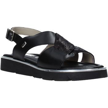 Pantofi Femei Sandale  Valleverde 32120 Negru