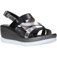 Pantofi Femei Sandale  Valleverde 32151 Negru
