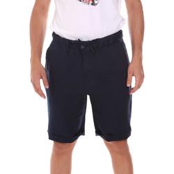 Îmbracaminte Bărbați Pantaloni scurti și Bermuda Sseinse PB737SS Albastru