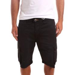 Îmbracaminte Bărbați Pantaloni scurti și Bermuda Sseinse PB738SS Negru