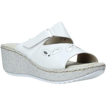 Pantofi Femei Papuci de vară Valleverde 20221 Alb