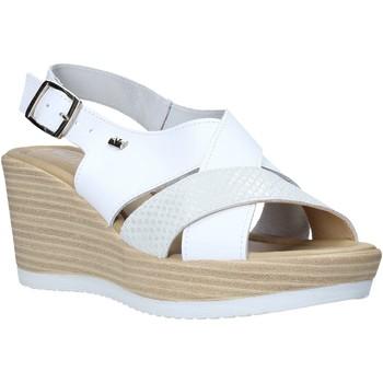Pantofi Femei Sandale  Valleverde 32421 Alb