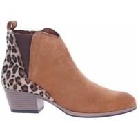 Pantofi Femei Botine Marco Tozzi 222505633441 Culoarea mierei