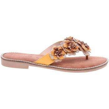 Pantofi Femei  Flip-Flops Marco Tozzi 222710826674 Galbene