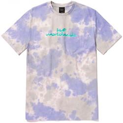 Îmbracaminte Bărbați Tricouri mânecă scurtă Huf T-shirt chemistry ss violet