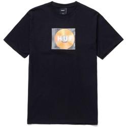 Îmbracaminte Bărbați Tricouri mânecă scurtă Huf T-shirt mix box logo ss Negru