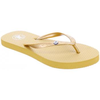 Pantofi Femei  Flip-Flops JOTT Slim tong femme Auriu