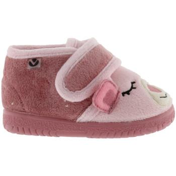 Pantofi Fete Papuci de casă Victoria Chaussures enfant  ojalá ositos rose