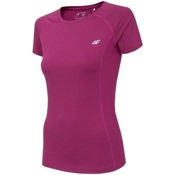 Îmbracaminte Femei Tricouri mânecă scurtă 4F TSDF002 Roz