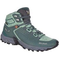 Pantofi Femei Drumetie și trekking Salewa WS Alpenrose 2 Mid GTX 61374-8540 green