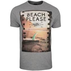 Îmbracaminte Bărbați Tricouri mânecă scurtă Monotox Beach Gri
