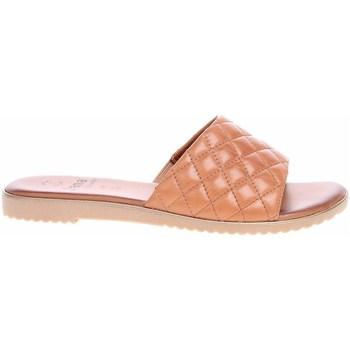 Pantofi Femei Papuci de vară Jana 882710626305 Bej