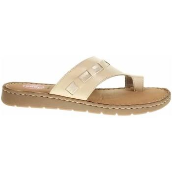 Pantofi Femei  Flip-Flops Jana 882710826360 Crem