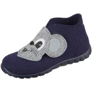 Pantofi Băieți Botoșei bebelusi Superfit Happy Gri, Albastru marim