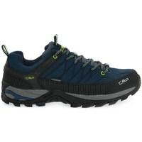 Pantofi Bărbați Drumetie și trekking Cmp Rigel Low Negre, Albastru marim