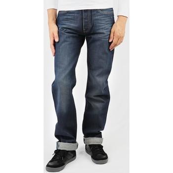 Îmbracaminte Bărbați Jeans drepti Levi's Levis 501 0501-0374 navy