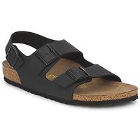 Pantofi Bărbați Sandale  Birkenstock MILANO Negru