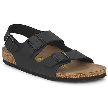 Pantofi Bărbați Sandale și Sandale cu talpă  joasă Birkenstock MILANO Negru
