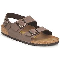 Pantofi Bărbați Sandale și Sandale cu talpă  joasă Birkenstock MILANO Maro