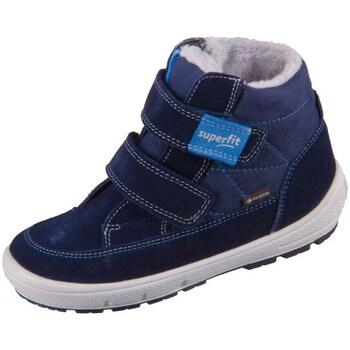 Pantofi Copii Cizme de zapadă Superfit Groovy Albastre, Albastru marim