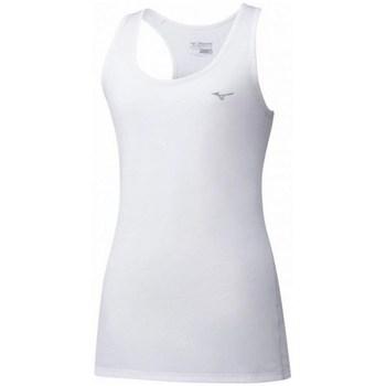 Îmbracaminte Femei Maiouri și Tricouri fără mânecă Mizuno Impulse Core Tank Alb