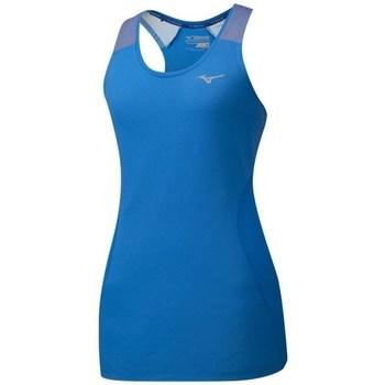 Îmbracaminte Femei Maiouri și Tricouri fără mânecă Mizuno Aero Tank Albastre