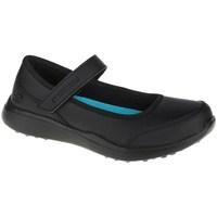 Pantofi Fete Balerin și Balerini cu curea Skechers Microstrides Class Spirit Negre