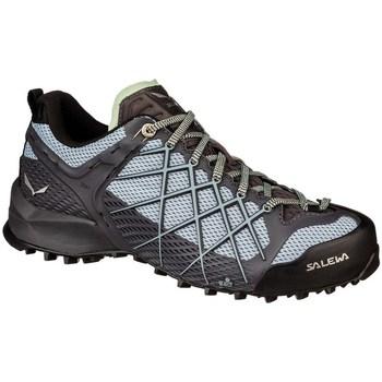 Pantofi Femei Drumetie și trekking Salewa WS Wildfire Negre
