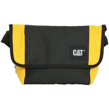 Genti Genti sport Caterpillar Detroit Courier Bag Noir