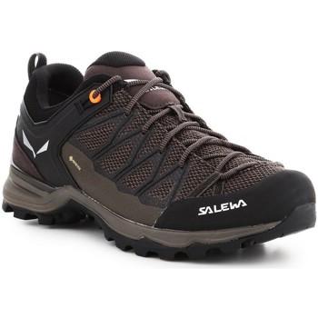 Pantofi Bărbați Drumetie și trekking Salewa Mtn Trainer Lite GTX 61361-7512 brown