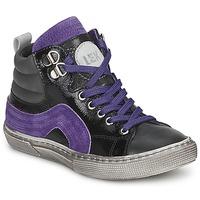 Încăltăminte Băieți Pantofi sport stil gheata Little Mary OPTIMAL Negru / Violet