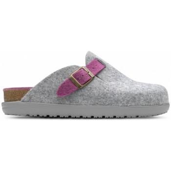 Pantofi Femei Papuci de casă Feliz Caminar Zueco de Hogar DOMUS Gri