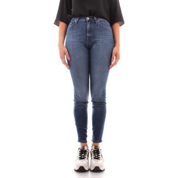Îmbracaminte Femei Jeans slim Roy Rogers A21RND206D3171819 BLUE JEANS