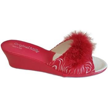 Pantofi Femei Papuci de vară Milly MILLY102zebrarox rosso