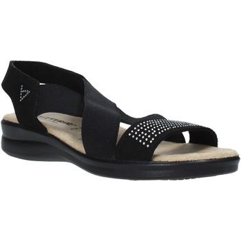 Pantofi Femei Sandale  Valleverde 25328 Negru