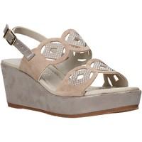 Pantofi Femei Sandale  Valleverde 32214 Bej