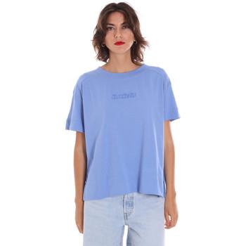 Îmbracaminte Femei Tricouri mânecă scurtă Invicta 4451248/D Albastru