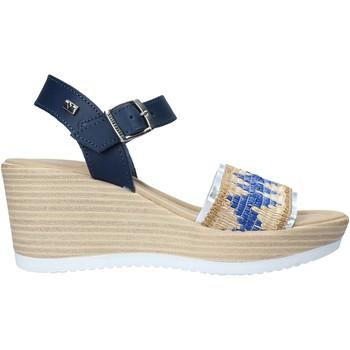 Pantofi Femei Sandale  Valleverde 32422 Albastru